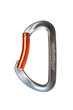 Climbing carabiner without lock