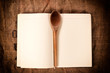 Cookbook and ladle