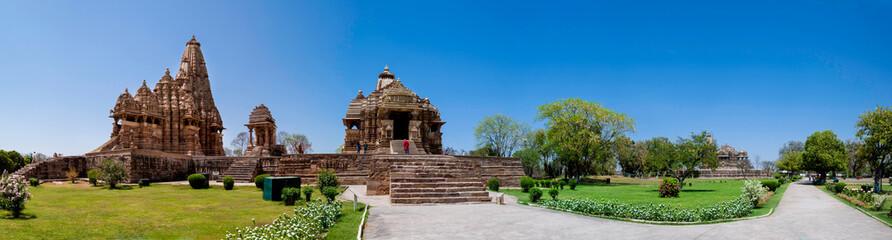 Khajuraho Temple Panoramic, India