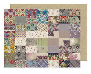 quilt collection - gray and canvas