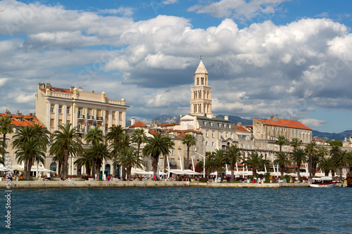 Diocletian palace in Split - UNESCO world heritage site, Croatia
