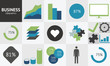 Simple and effective business infographics vector eps10
