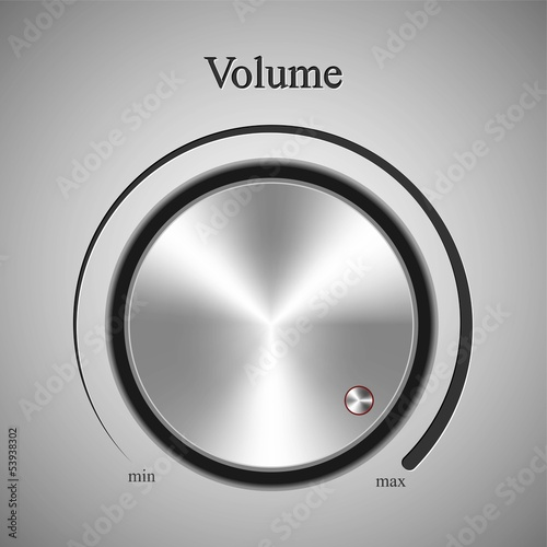 Realistic control the music volume