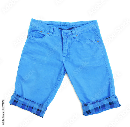 Men's shorts isolated on white