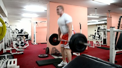 exercise for back deadlift barbell