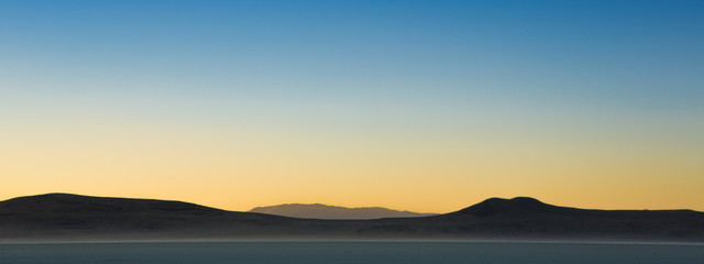 Sunrise on the Black Rock Desert
