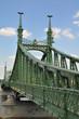 Brücke in Budapest, Ungarn