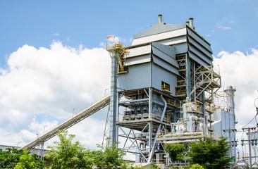 Biomass energy plant