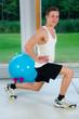 dehnübungen im fitnesskurs
