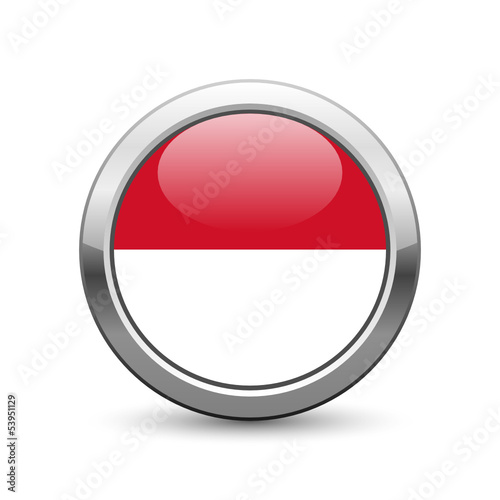 Indonesian flag icon web button