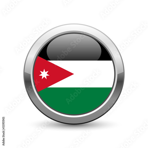 Jordanian flag icon web button