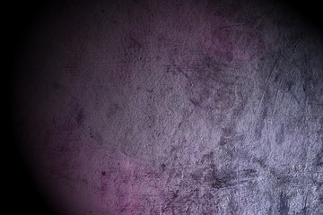 Grunge texture background with spot light.