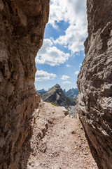 Averau Mountain - European Alps - Italy.