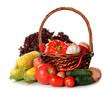 fresh various vegetables