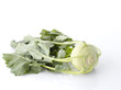 Kohlrabi On White Background