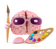 Brain loves to paint