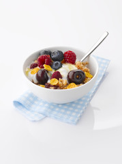 Yogurt with fresh Fruit and Granola