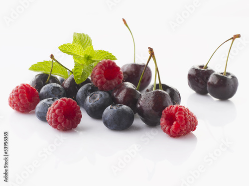 Cherry and Berry Fruits