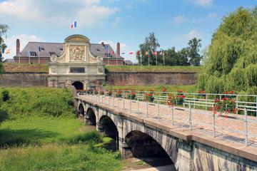 Lille - Citadelle de Vauban !Porte royale)