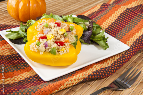 Yellow Stuffed Pepper