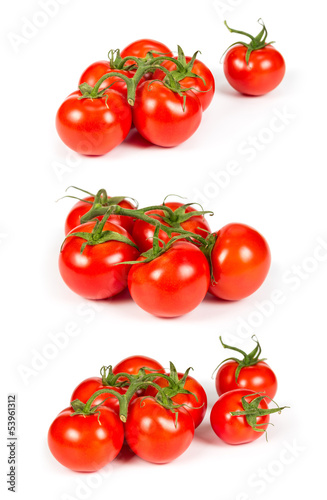 Set of tomatoes