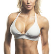 Female Fitness Model's Chest