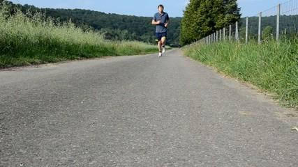 Jogging Straße