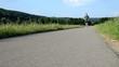 Jogging Straße Zeitlupe
