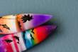 Leinwandbild Motiv Surfbretter