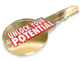 Key to Unlock Your Potential Take Advantage Opportunity