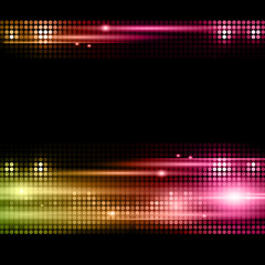 Disco vector background