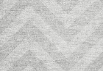 White elegant chevron pattern background, grunge canvas texture