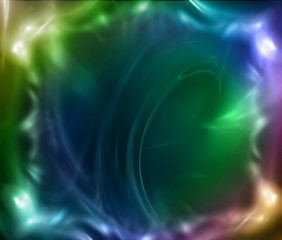 Abstract glowing color background