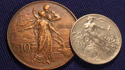 old italian lire coins