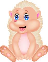 cute hedgehog cartoon