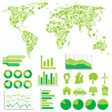 Ecology and environment infographics