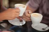 Fototapety couple coffee