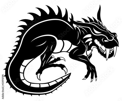 Black dragon.