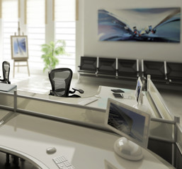 Modern Office Conception (focus)