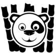 Panda sign.