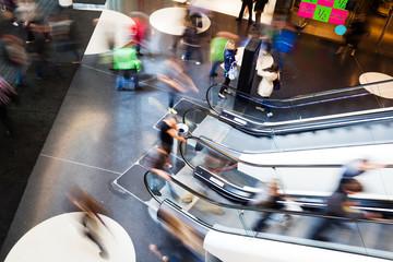 im Einkaufszentrum