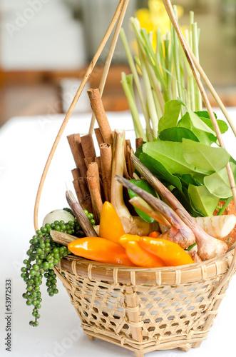 Thai  healthy vegetables