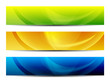 abstract colorful presentation web banners