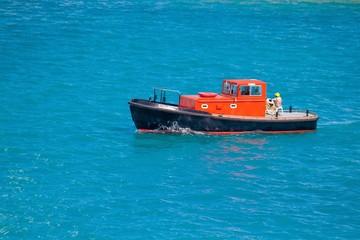 Bermuda Tug Boat