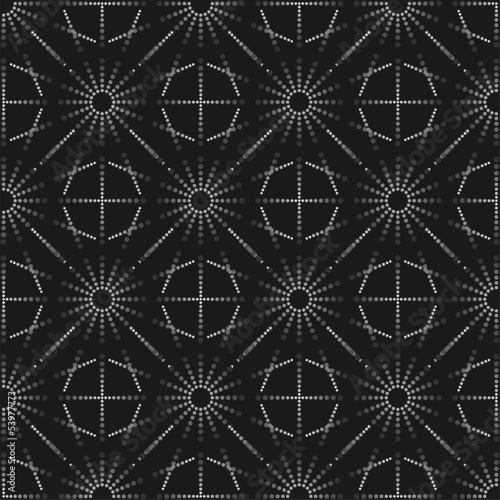 stylish geometric pattern, seamless background