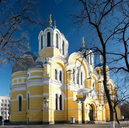 Vladimir Cathedral in Kiev, Ukraine