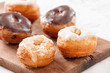 Mini croissant and doughnut mixture assortment