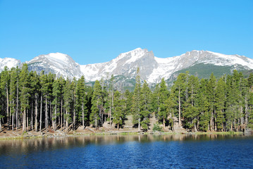 Sprague lake, Rocky Mountain National Park, CO, USA