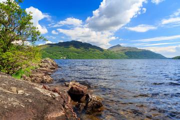 Inveruglas on Loch Lomond Scotland