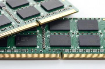 computer RAM memory microchip module